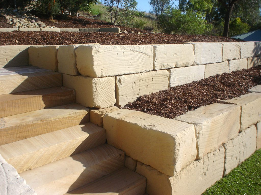 Retainer Walls & Stairs