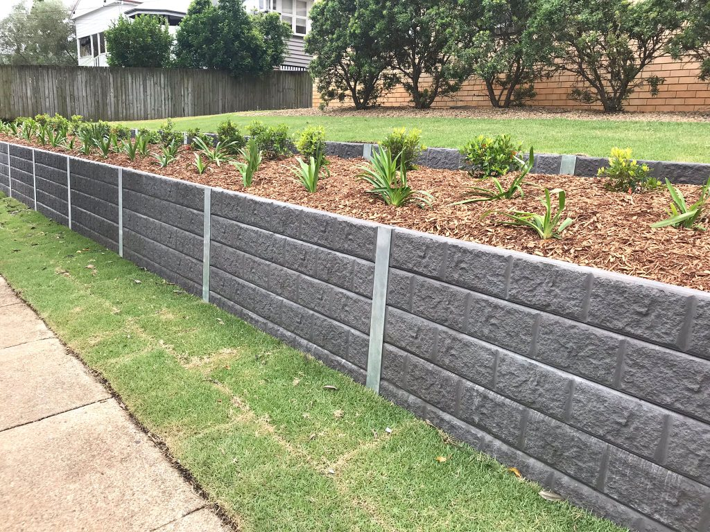 Concrete Sleeper Walls